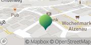 Karte GLS PaketShop Alzenau in Unterfranken, Deutschland