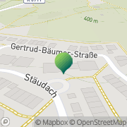 Karte Rodon Express - Kurierdienst Tübingen, Deutschland