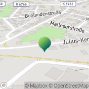 Karte TAS IREN KURIERDIENST und KLEINTRANSPORTE Reutlingen, Deutschland