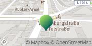 Karte GLS PaketShop Stuttgart, Deutschland
