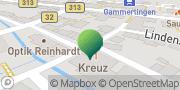 Karte GLS PaketShop Gammertingen, Deutschland