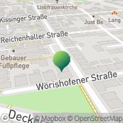Karte Kuriertaxi-Stuttgart Stuttgart, Deutschland