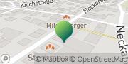 Karte Druti Remseck am Neckar, Deutschland