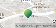Karte GLS PaketShop Alsfeld, Deutschland