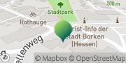 Karte GLS PaketShop Borken (Hessen), Deutschland