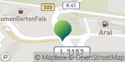 Karte GLS PaketShop Knüllwald, Deutschland