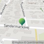 Kort Skærup Borger- og Grundejerforening Børkop, Danmark