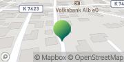 Karte GLS PaketShop Laichingen, Deutschland
