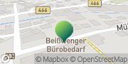 Karte GLS PaketShop Deggingen, Deutschland