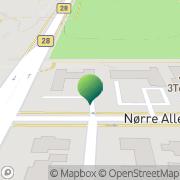 Kort Serviceforbundet Fredericia, Danmark