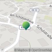 Karte Karg Manfred Getränkemarkt Oberleichtersbach, Deutschland