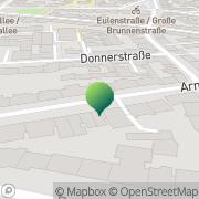 Karte Ergo Praxis Post Ergotherapie in Ottensen Hamburg, Deutschland
