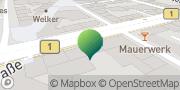 Karte GLS PaketShop Hildesheim, Deutschland