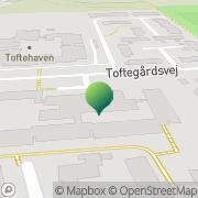 Kort Toftegårdscentret Søllested, Danmark