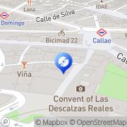 Map Escridiscos Madrid, Spain