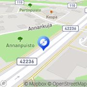 Kartta Pop Shop Antikva &  Music Shop Salo, Suomi