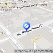 Kartta Stupido-Shop Helsinki, Suomi