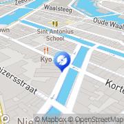 Kaart De C&D - CLOSED Amsterdam, Nederland