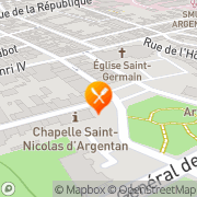 Carte de Rovip S.A. Argentan, France