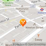 Map Guanabara London, United Kingdom