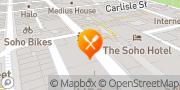 Map Busaba Soho London, United Kingdom