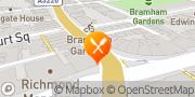 Map Strada - Earl's Court London, United Kingdom
