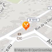 Carte de BOULANGERIE AREES ET FILS SARL Saint-André-de-Cubzac, France