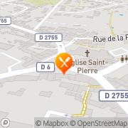 Carte de Rustique Vendéen S.A. La Gaubretière, France