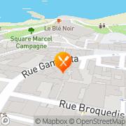 Carte de DODIN GARRIGUE Biarritz, France
