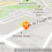 Carte de EURL DUMANT Rennes, France