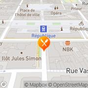 Carte de La Mezzanine Rennes, France