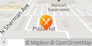 Map Pizza Hut Levelland, United States