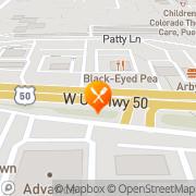 Map Giacomo's Ristorante & Lounge Pueblo, United States