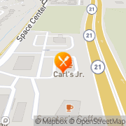 Map Carl's Jr Colorado Springs, United States
