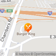 Map Burger King Aurora, United States