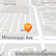 Map Arby's Aurora, United States