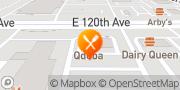 Map QDOBA Mexican Eats Thornton, United States
