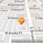Map Imperial Chinese Restaurant Denver, United States