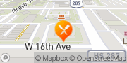 Map Denny's Denver, United States
