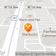 Map Burger King Denver, United States