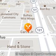 Map Carl's Jr. Lakewood, United States