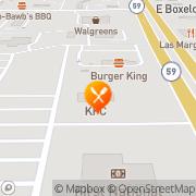 Map KFC Gillette, United States