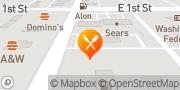 Map Burger King Alamogordo, United States