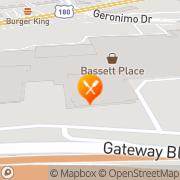 Map Pizza Hut Express El Paso, United States