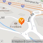 Map Denny's Restaurant Avon, United States