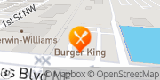 Map Burger King Albuquerque, United States