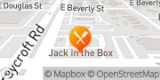 Map Jack in the Box Tucson, United States