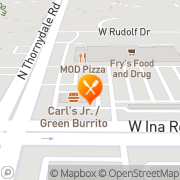 Map Carl's Jr Marana, United States