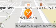 Map McDonald's Provo, United States