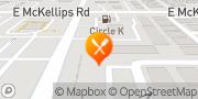 Map Pizza Hut Mesa, United States